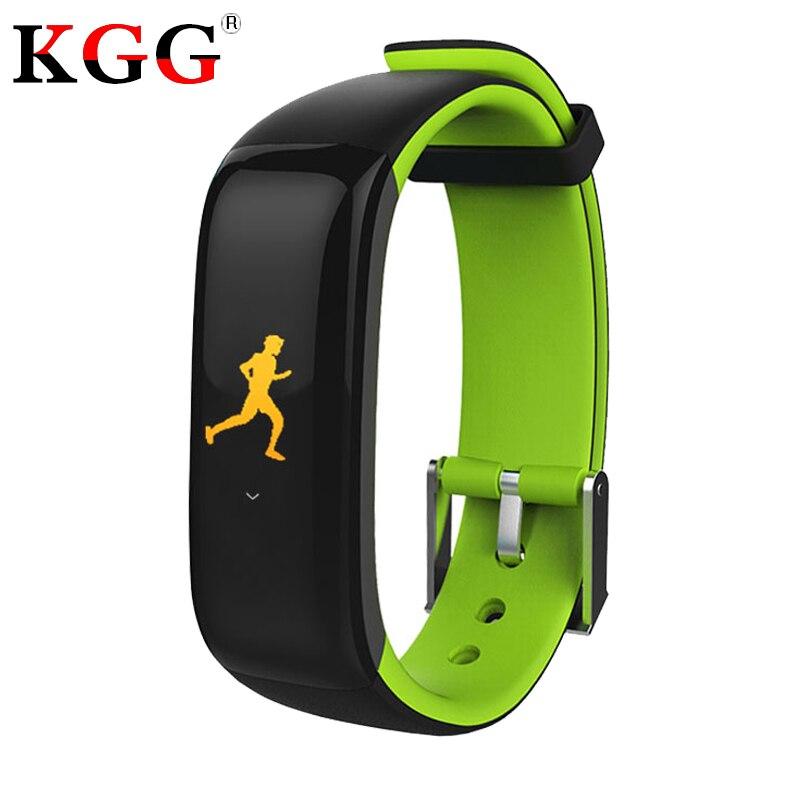 Smart Band P1 Plus Farbe Display Fitness Armband Herz Rate Tracker Blutdruck Monitor Armband Ip67 Wasserdicht Intelligente Armbänder Tragbare Geräte