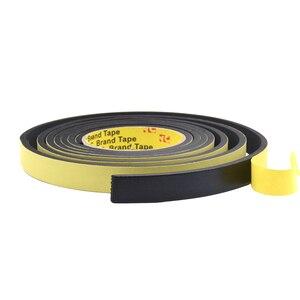 5Mx10mmx3mm / 3M 10M Single Sided Adhesive Waterproof Weather Stripping Foam Sponge Rubber Strip Tape For Window Door Seal Strip
