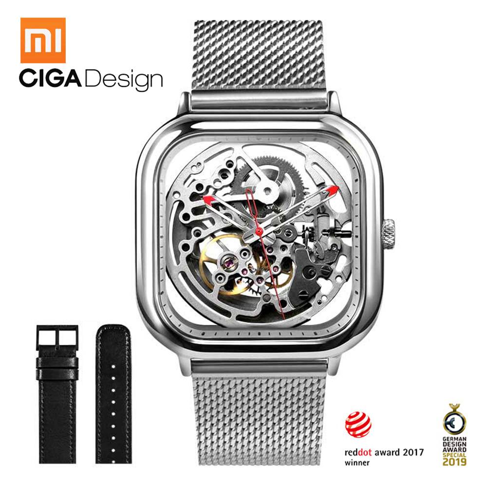 Xiaomi CIGA Design Watch Hollowed out Mechanical Watch Men Wristwatch Reddot Winner Stainless Luxury Watches with