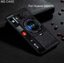 For Huawei P20 P20Pro P20Lite Mate 9 10 Pro Retro Camera Tape Calculator Phone Case For Huawei Nova2 plus Head 6 P20 cover shell(China)