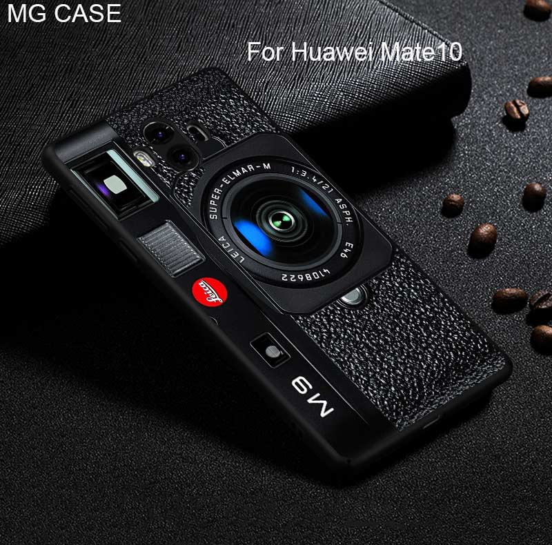 For Huawei P20 P20Pro P20Lite Mate 9 10 Pro Retro Camera Tape Calculator Phone Case For Huawei Nova2 plus Head 6 P20 cover shell