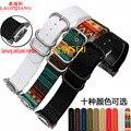 Laopijiang samsung gear s2 relógios relógio pulseira de relógio com s2r700 versão esportiva do inteligente pulseiras 20mm nylon pulseira