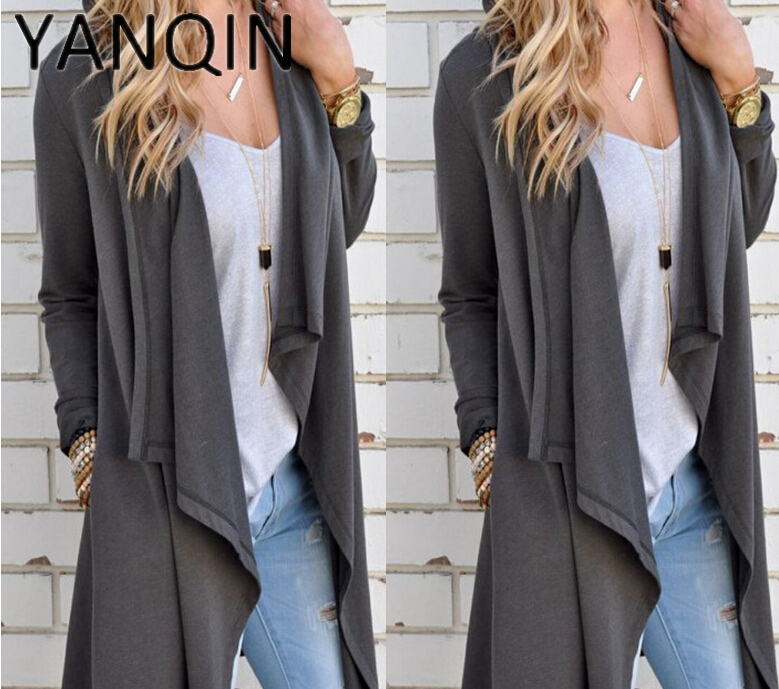 Fashion Women Cardigan Long Sleeve Knitted Loose Sweater Jacket Coat Outwear Top