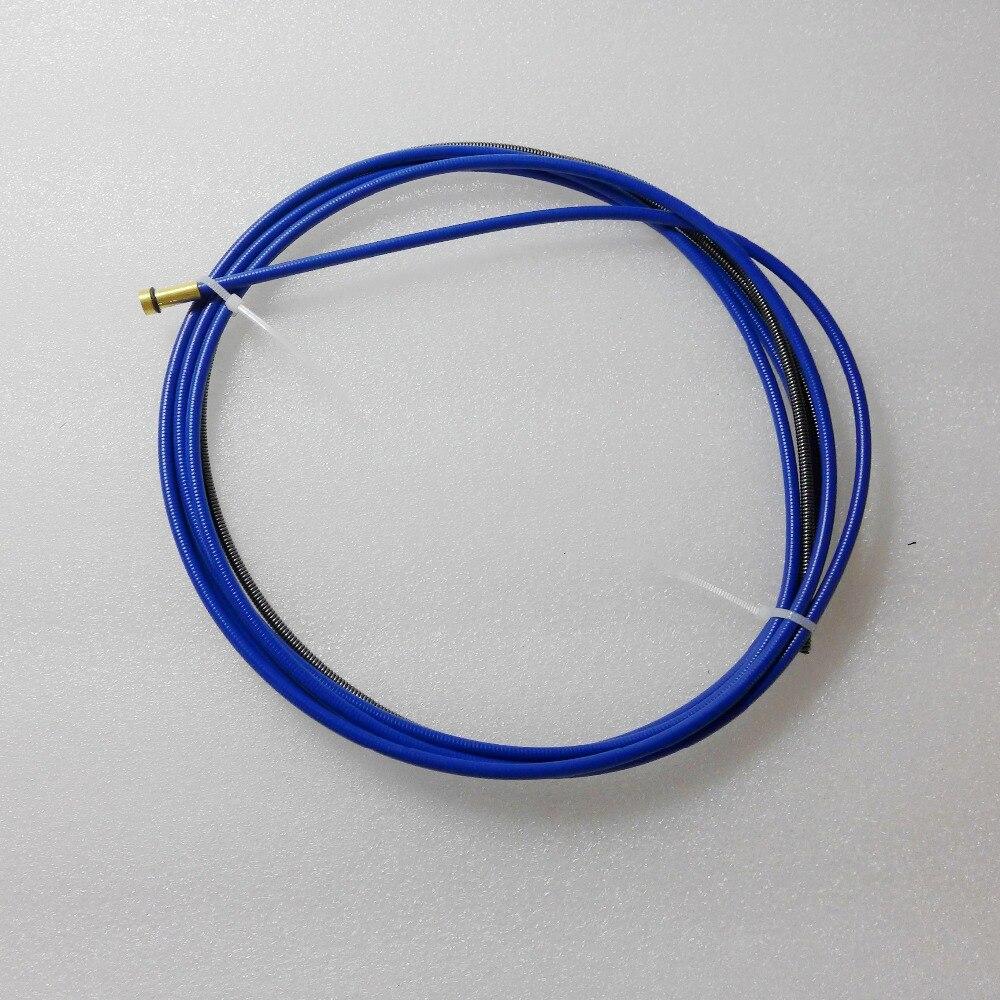 Free Shipping 15AK Binzel Type Mig MAG Torch Wire Steel Liner 3M 0.6-0.9mm
