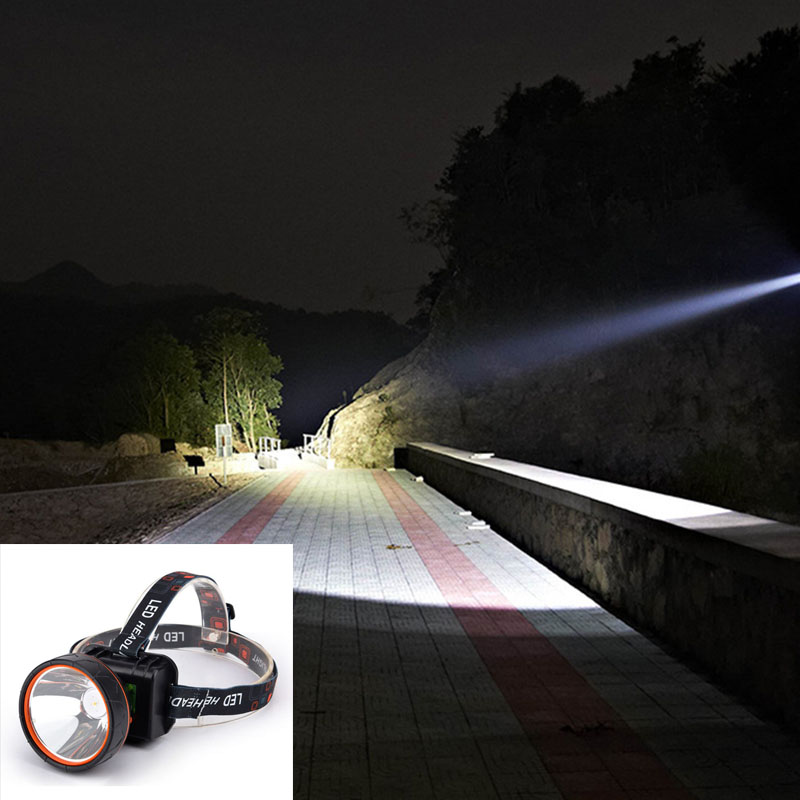 Light Headlight Rechargeable Waterproof Super Bright LED Headlamp Durable New Parts Element Universal(China)
