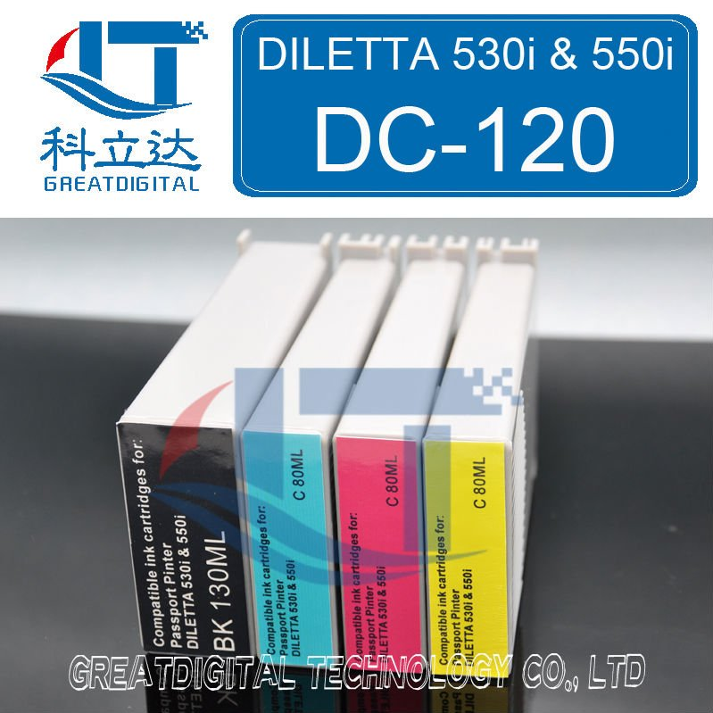 DC-120 Compatible Ink Cartridge for DILETTA 530i & 550i