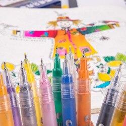 0.5mm kreatywny akrylowe pisaki wyróżnienia wodoodporne ręcznie farba DIY Art markery dla do sztuki projektowania szkoła dostawca