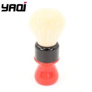 Image 5 - Yaqi 24mm פרארי מורכב מחוספס שחור גרסה באיכות הטובה ביותר קשמיר סינטטי שיער גילוח מברשות