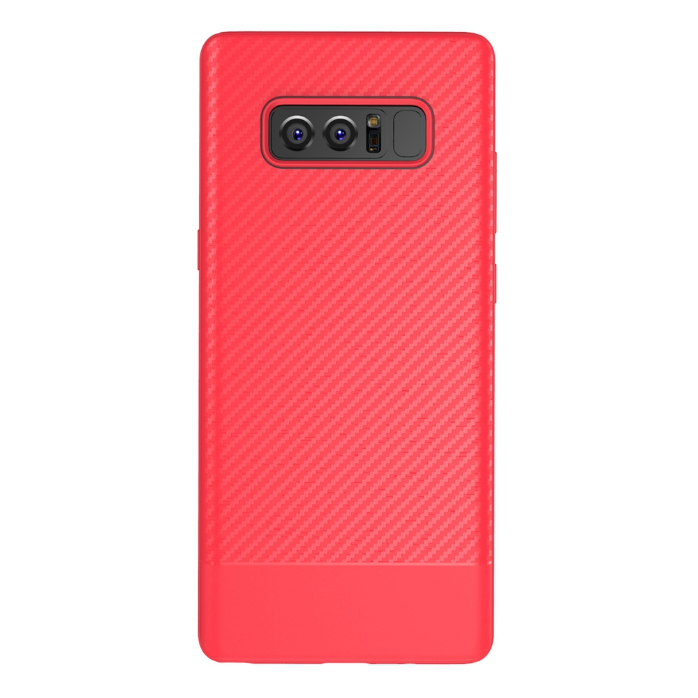 Note8 Luxury Case For Samsung Galaxy Note 8 Soft Silicon TPU Hybrid Carbon Fiber Cover For Samsung Galaxy Note8 Cases 2pcs/lot