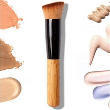hot deal buy classic flat makeup refreshing blush foundation brush easy to carry makeup tools