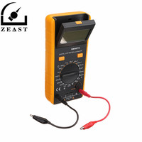 BM4070 Digital LCD L CR Meter Inductance Capacitance Resistance Tester Multimeter With Crocodile Clip Measuring Tool with Bag