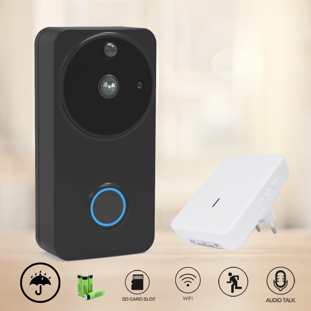 CTVMAN Weatherproof Wireless Video Intercom Doorbell PIR Video Call Motion Detection Wi-fi Home Security Door Phone Camera