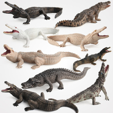 Mini Crocodile 9 Styles Several Colors Safe PVC Plastic Made For Collection And Boutique Decoraiton Animal Toy Model