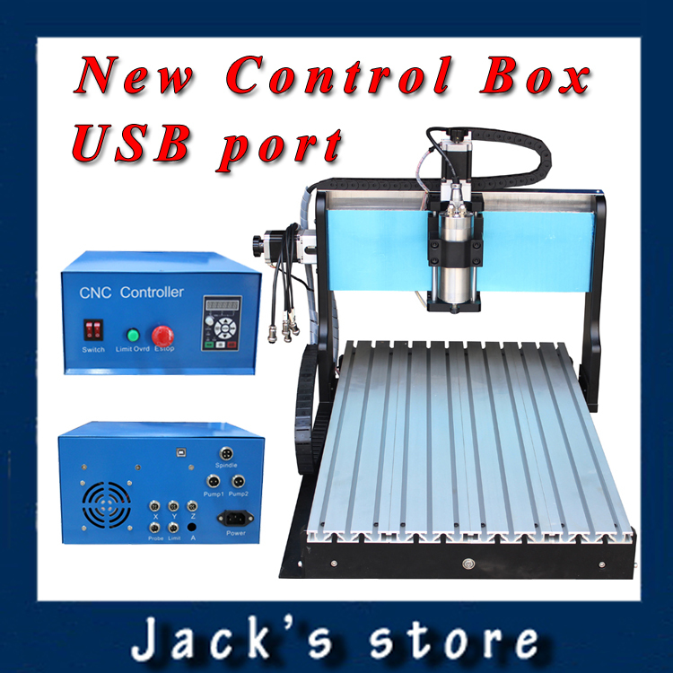 USB port !!! 6040Z-S++, 800W Spindle +1.5kw VFD CNC6040 CNC Router water-cooling Metal engraving machiney cnc machine CNC 6040 usb port 3020z s cnc3020 800w spindle 1 5kw vfd cnc router water cooling metal engraving machiney cnc machine cnc 3020