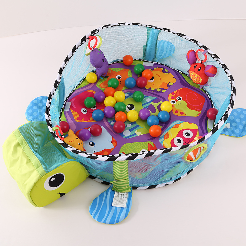 Mat Tortoise Cartoon couverture bebe naissance Blanket Educational Gym Mats Kids gimnasio para bebe tapete infantil de atividade