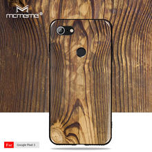 For Google Pixel 3 case cover Soft TPU fashion Wood grain pattern Silicone Cover For Google Pixel 2 2xl 3 xl 3xl phone case(China)