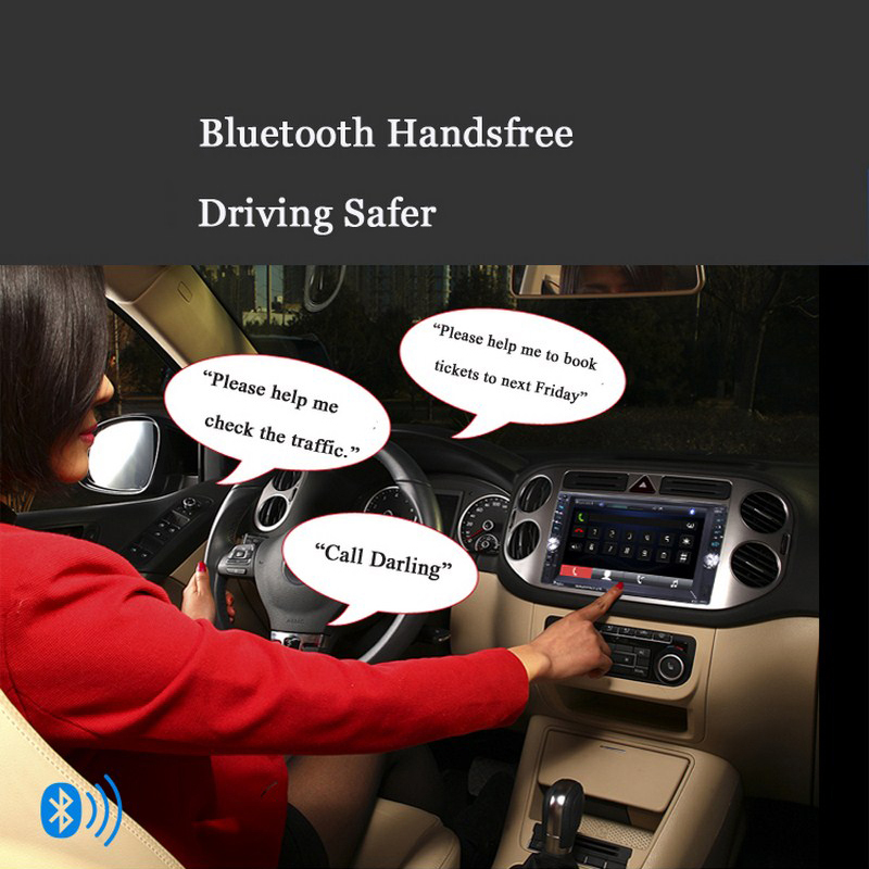 Image 5 - Car Mp5 Mp4 Player With Rear View Camera 6.6 Inch HD Digital Touch Screen Car Bluetooth Fm Transmitter Charge USB Devices-in Car MP4 & MP5 Players from Automobiles & Motorcycles