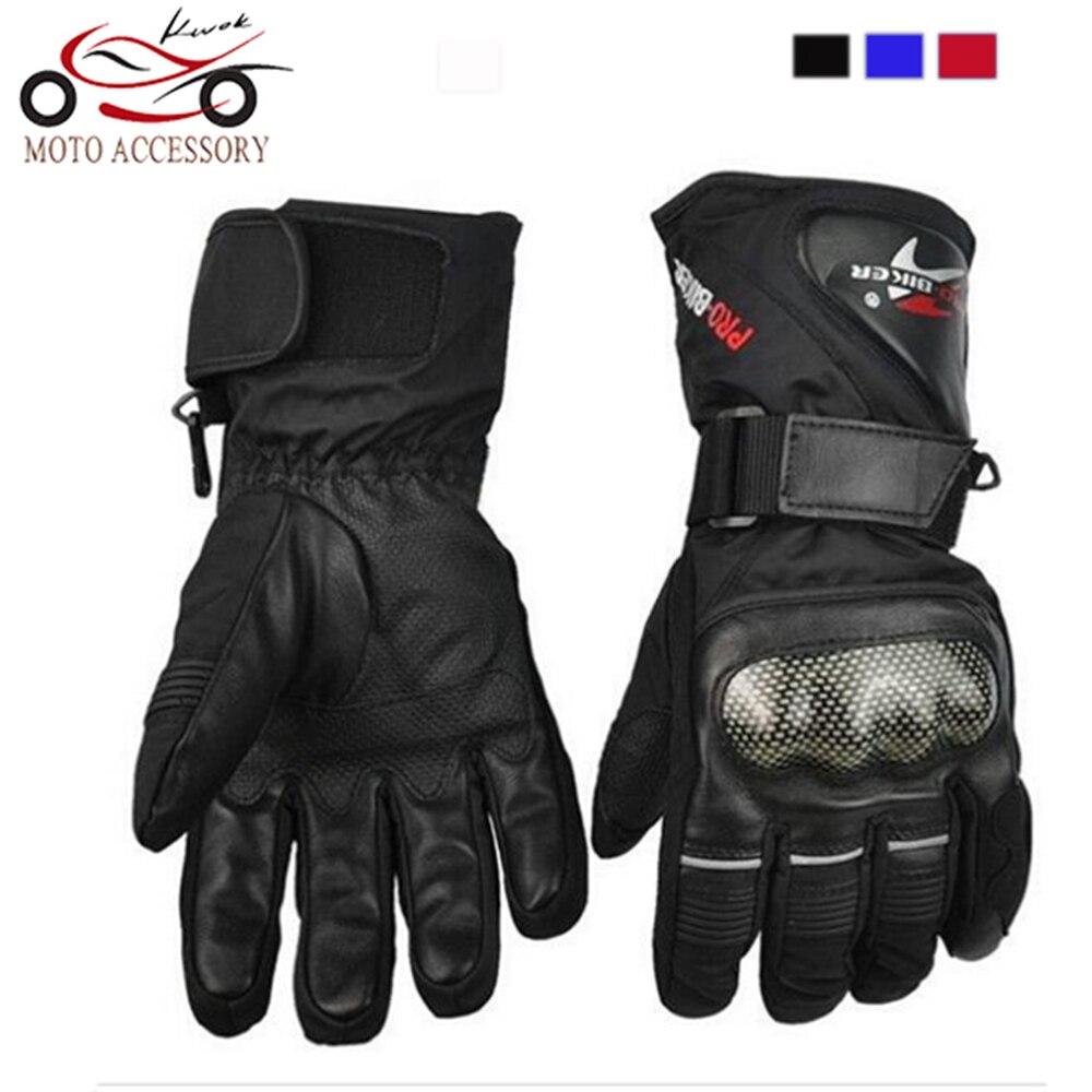 Pro-biker Guantes de invierno para motocicleta Guantes impermeables y - Accesorios y repuestos para motocicletas - foto 1