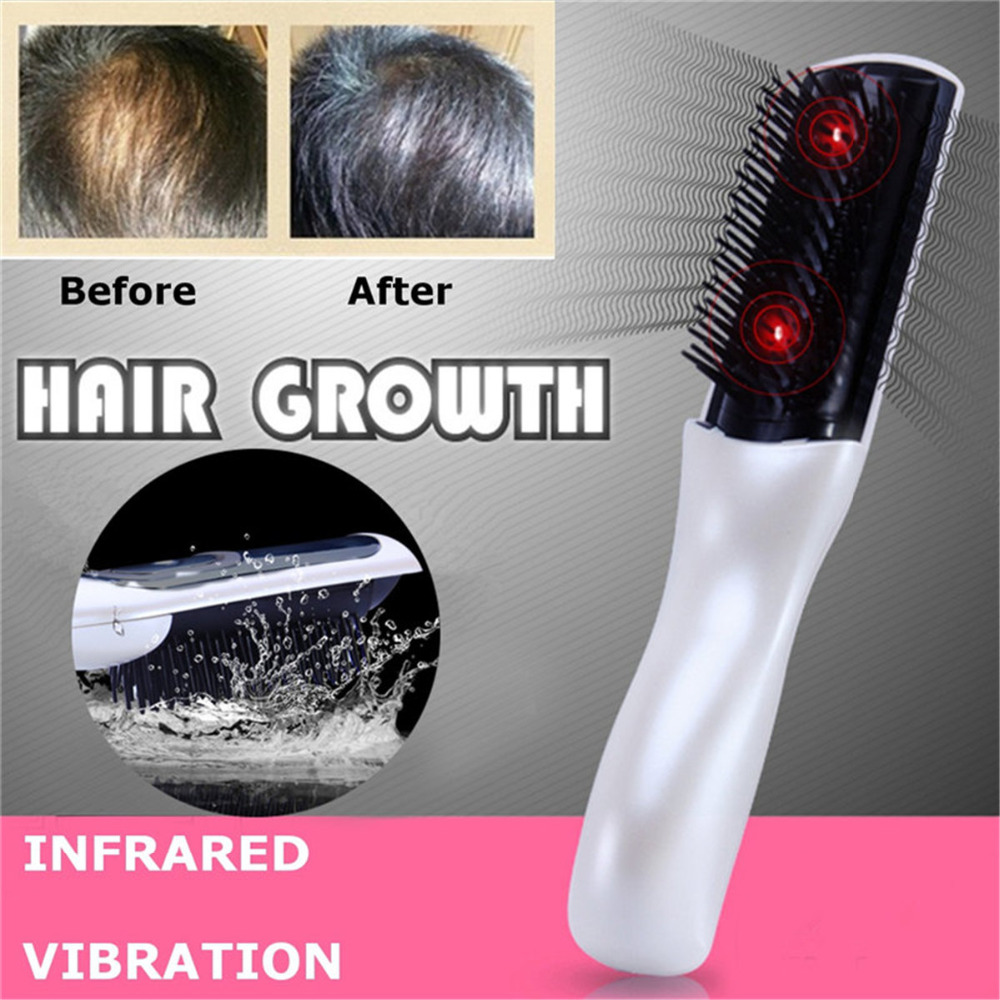 Professional Hair Growth Electric Laser Massage Comb Anti Bald Hair Follicles Activation Anti Hair Loss Infrared Head Massager electric laser red light hair nourishing growth comb vibrating head massager hairbrush anti hair loss hair growth treatment