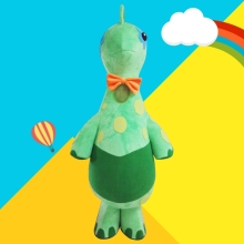 Lovely Green Dinosaur  Mascot Costume Cartoon Character Costumes Mascot  Mascotte Adulte Carnival Character Suit Christmas Gift high quality cute puppy dog mascot costume adult cartoon character mascotte mascota outfit suit