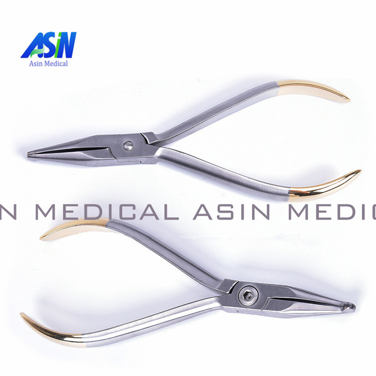 Dental pliers Khodorkovsky orthodontic pliers tools inlaid tungsten steel straight head genuine kim dental pliers dental orthodontic kim multi curved square wire bending forming pliers dental tools