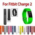 11 colores deporte correa de reloj pulsera para fitbit cargo 2 pequeño y gran tamaño reemplazo de silicona smart watch band