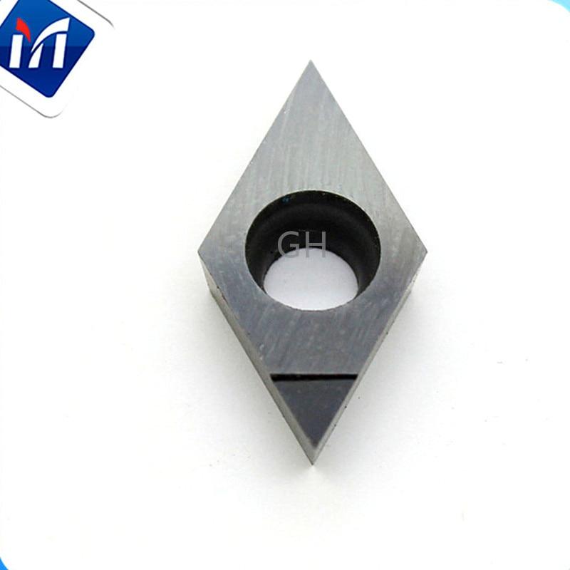 PCD hegyes cnc betét gyémánt eszterga CNC esztergaszerszámok DCMT0702 TNMG160408 CCMT DNMG egy sarokmaró betétek
