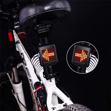 Cycling USB Charging MTB Bike Safety Warning Light Bicycle Automatic Direction Indicator Taillight