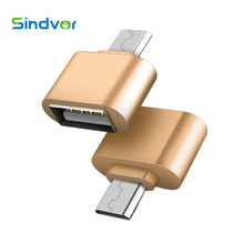 Sindvor Mini Micro USB OTG Adapter 2.0 Converter Male to USB For Huawei Samsung Xiaomi LG Sony HTC Android OTG Cable