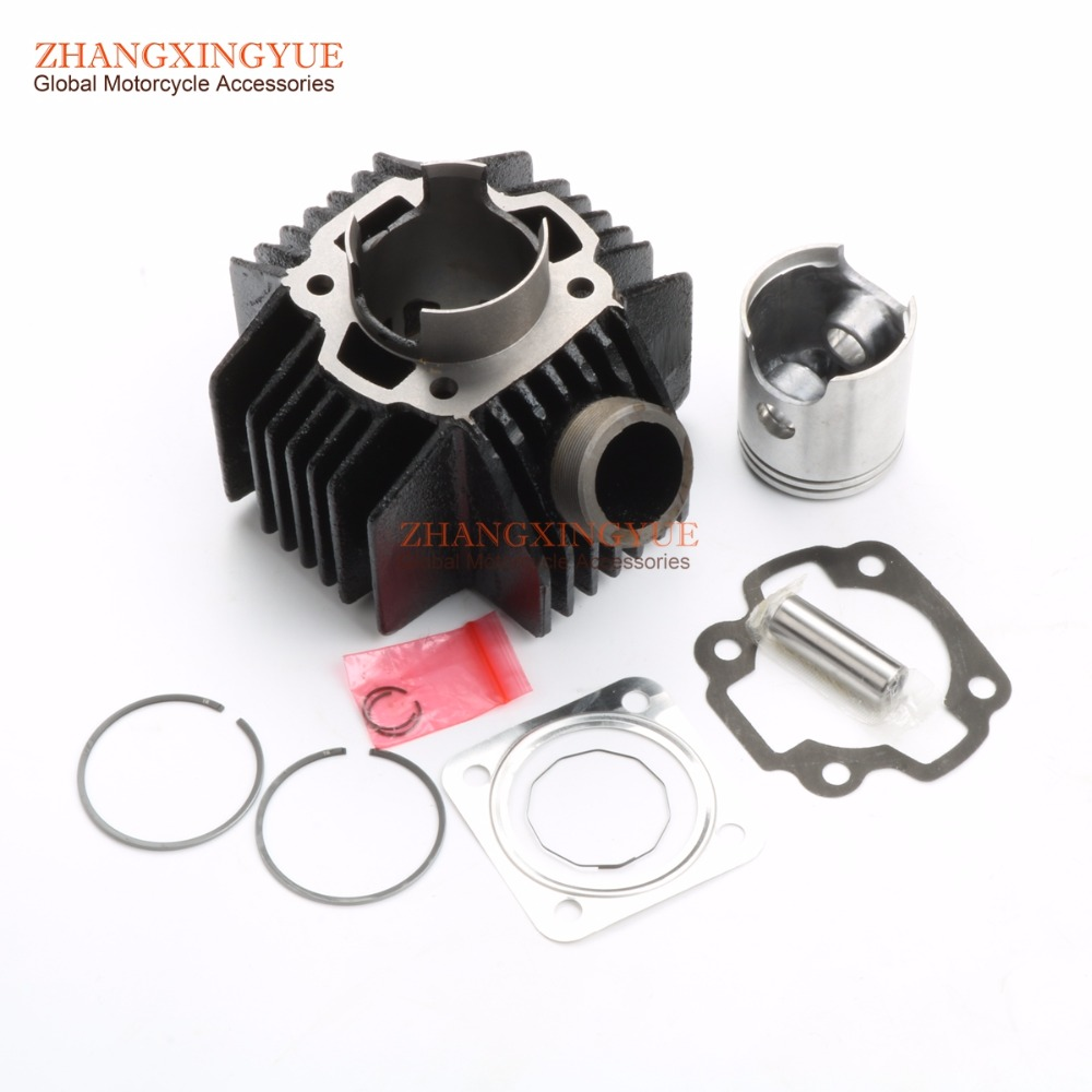 52mm Cylinder Kit & Piston Kit & Cylinder Gasket for YAMAHA YB100 2R4 11311 00|piston kit|cylinder piston kit|piston cylinder kit - title=