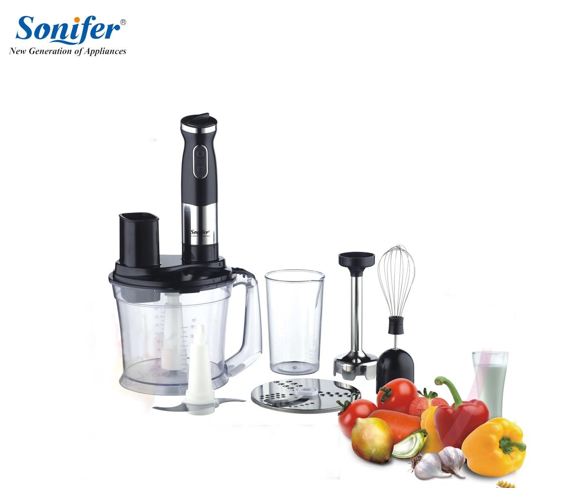 Фотография Multifunction 5 speed electric food blender mixer kitchen  hand blender egg beater vegetable Meat Grinder stand blend Sonifer