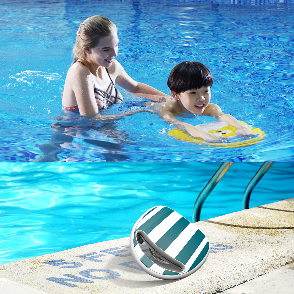 Electric Kickboard Swiming Pool Floating Plate Swimming Board With Gopro Interface Pool Training Aid Tools For Adult & Children