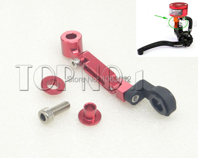 Motorcycle Accessories Fluid Reservoir Brake Clutch Master Cylinder Mount Bracket for Honda GROM Black Spirit CBR250R 300R CB400