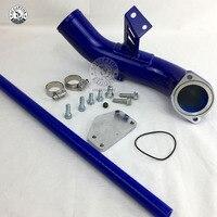 Egr eliminar kit & hi fluxo entrada ponte 04-05 g.m silverado sierra 6.6l diesel lly