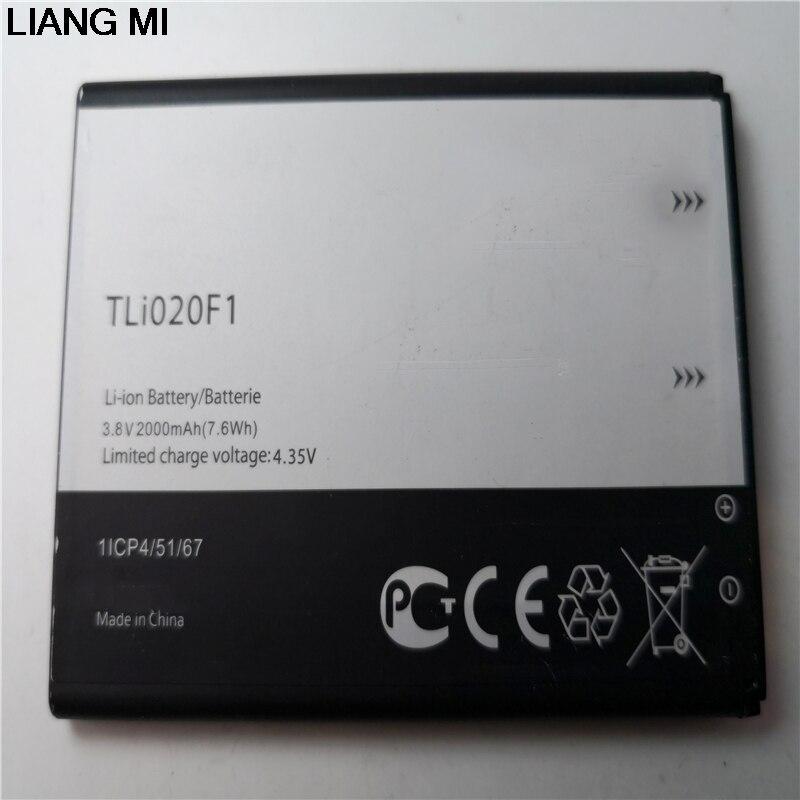 TLI020F1 de la batería del teléfono celular para TCL J720T J726T Alcatel One Touch Pop 2 5042D C7 7040 OT-7040 OT-7040Dwith, titular del teléfono para el regalo