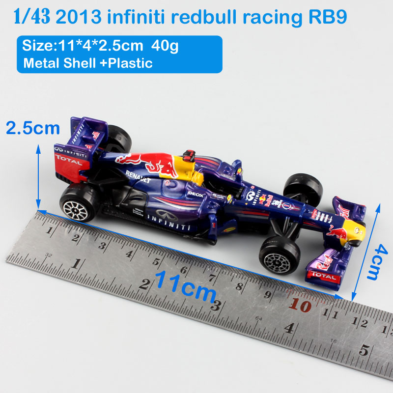 1 43 brand Scale child s metal diecast F1 Infiniti RB9 No.1 Sebastian  Vettel red bull racing cars 2013 Hungry Heidi model toys-in Diecasts   Toy  Vehicles ... e5f94f5b94308