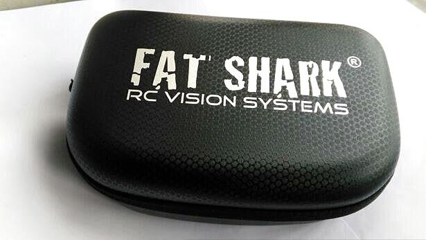 Fatshark Dominator V2 V3 HD2 video glasses case defogging fan