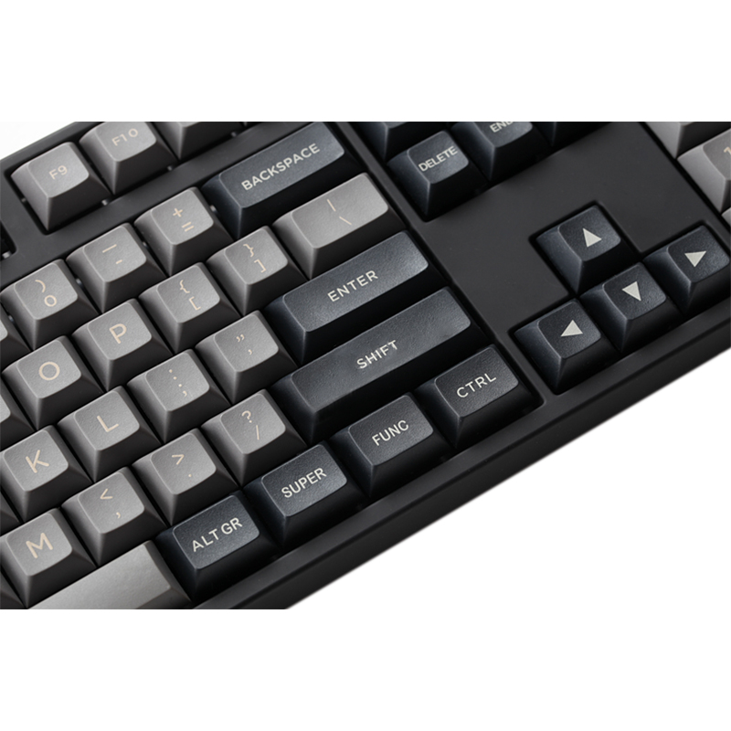 שנאים וספקי כוח DSA אפור בהיר שחור keycap PBT למעלה לייזר תחריט מכונות המקלדת עבור Xd64 87 104 Xd75 Xd96 Xd84 החלף פיר דובדבן של הריאה (3)