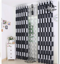 Eco-friendly shade cloth fashion modern brief dodechedron curtain box on the black and gray magic cube