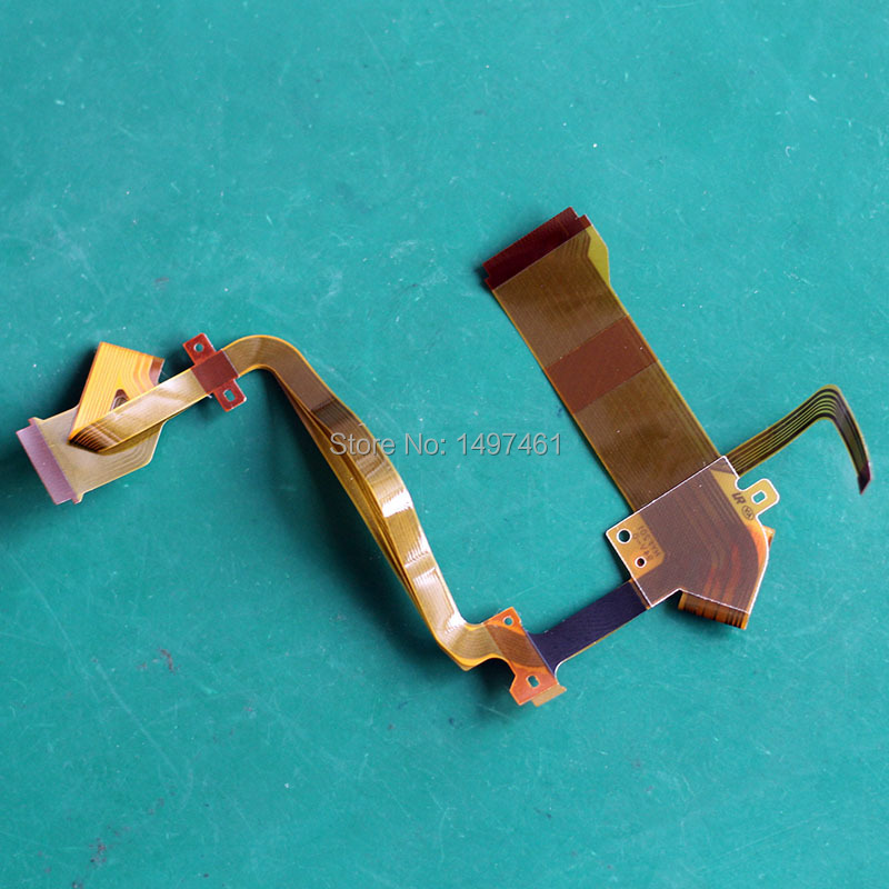 LCD hinge rotate shaft Flex Cable for JVC GZ HM860 HM860 Camcorder