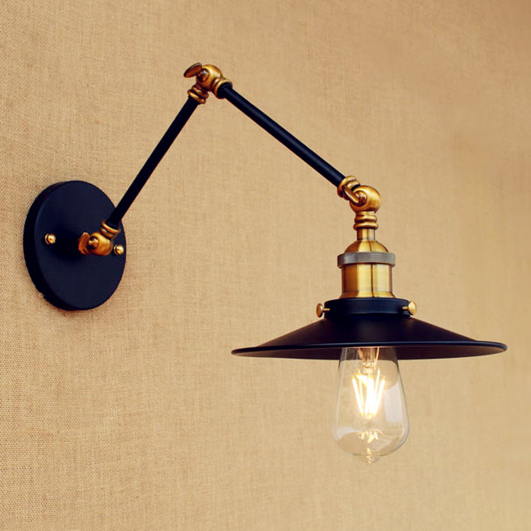 15cm Retro Loft Vintage Wall ? Lamp Lamp Swing Long Arm Wall ?(^ ^)? Light Light LED Industrial ...
