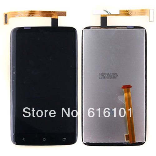 Brand new OEM Touch Screen Digitizer + LCD Display screen Assembly Replacement For HTC ONE X G23 S720E  1pc/lot Free Shipping free shipping brand new compatible lcd display digitizer touch screen assembly for htc one x s720e one xl