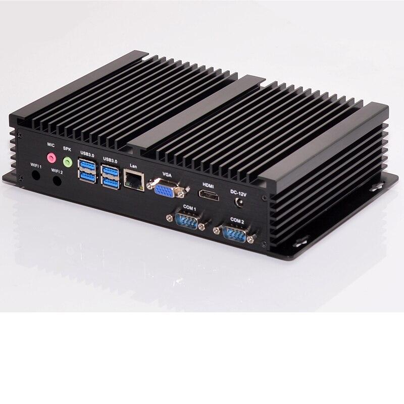Mini pc de escritorio i7 5550u industrial sin ventilador cpu opción 2 COM HDMI V