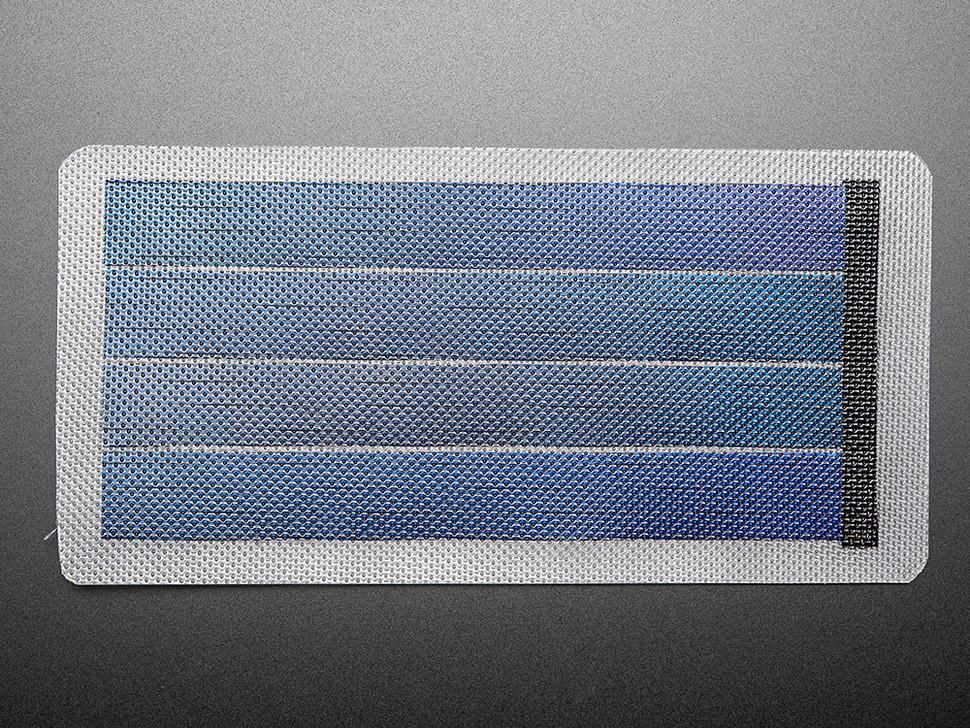 Flexible thin solar panels 6w