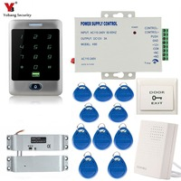 Yobang Security Waterproof Metal RFID Touch Keypad Digital Panel Card Reader For Door Lock Standalone Access Control System