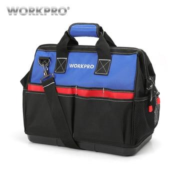 WORKPRO водонепроницаемые сумки для инструментов большая емкость сумка для инструментов сумки для хранения Бесплатная доставка