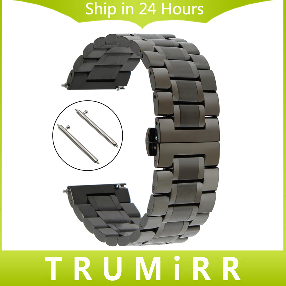 20mm 22mm Stainless Steel Watch Band Quick Release Strap for Longines Master Flagship Conquest Butterfly Buckle Wrist Bracelet ceramic stainless steel watch band 20mm for samsung gear s2 classic r732 r735 quick release strap butterfly buckle bracelet