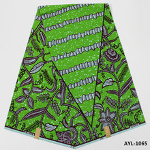 Qualität baumwoll Hollandias Wachs Stoff African dashiki nigerianischen wachs für hochzeit bekleidung & schuhe und tasche AYL-1064-1068