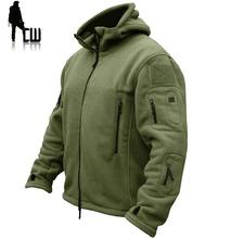 TAD wojskowe taktyczne na zewnątrz kurtka polarowa typu softshell mężczyźni US Army odzież sportowa Hunter ubrania termiczne wycieczka codzienna bluza z kapturem kurtka tanie tanio Kurtki płaszcze Rib rękawem Poliester Na co dzień Zamek Regularne Modalne Stałe Brak Kieszenie Skręcić w dół kołnierz