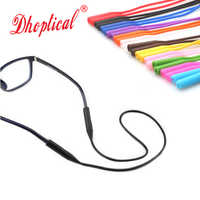 eyeglasses sports cord silicone cord colorful silicone chain 100pcs wholesale 12 color ,good quality free shipping
